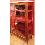 Showcase Display Cabinet In Mahogany Opening By Two Doors Louis XVI Period