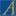 Art Deco style coffee table in solid blond oak
