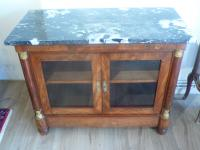 FRENCH EMPIRE PERIOD DISPLAY CABINET