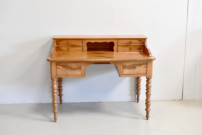 Bleached Louis Philippe Desk - Nineteenth