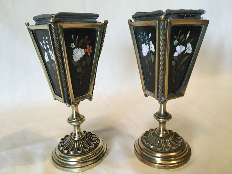 PAIR OF ITALIAN CACHE POTS