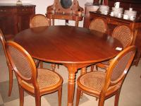LOUIS PHILIPPE PERIOD OVAL TABLE