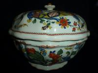 FAIENCE SOUP TUREEN