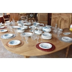 Important table service Earthenware Gien - late nineteenth