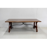 Large convent table Italian spirit - twentieth