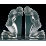 LALIQUE BOOKENDS