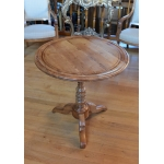 LOUIS PHILIPPE PERIOD PEDESTAL TABLE