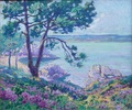 MADELINE Paul French Painting 20Th Crozant School View Of The Gulf Of St Tropez Oil on canvas Signed