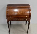 CHARLES X STYLE CYLINDER TOP DESK