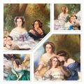 LARGE MINIATURE ON IVORY AFTER WINTERHALTER