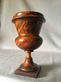 MEDICI VASE IN TURNED WOOD